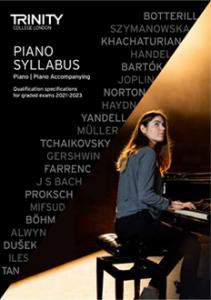 Trinity Piano Syllabus